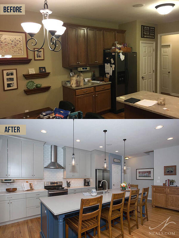 improved kitchen lighting