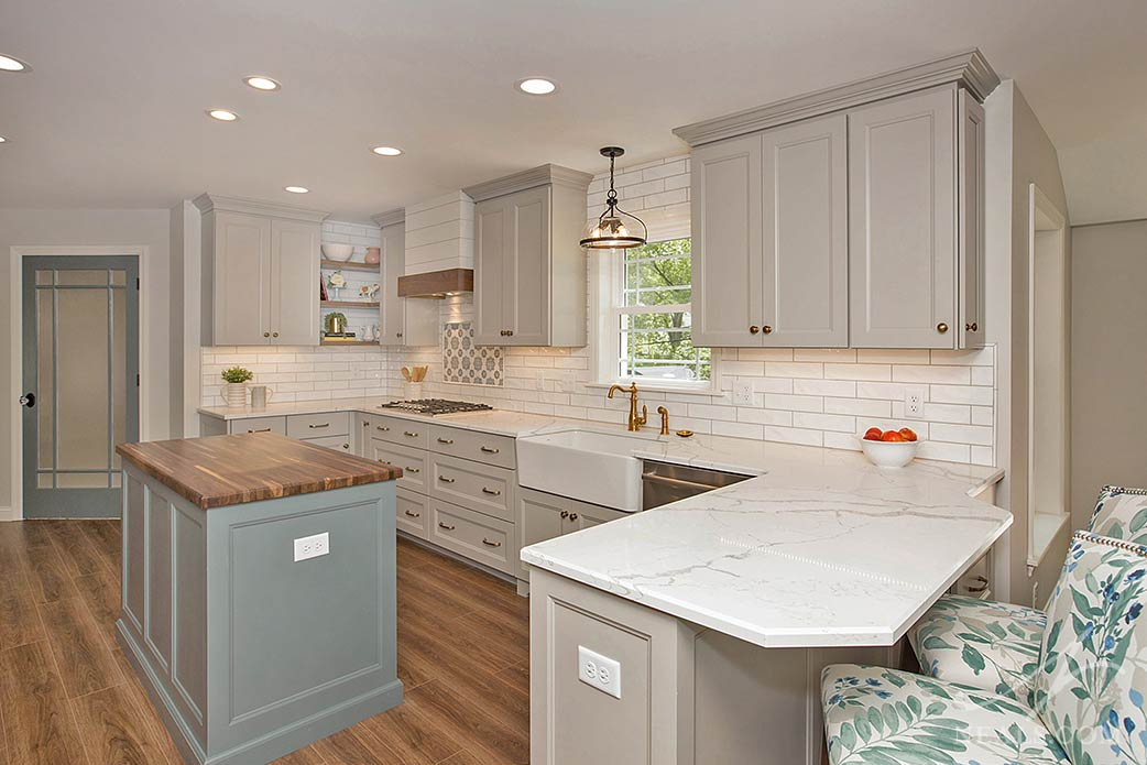 Farmhouse-Inspired Kitchen Remodel in Montgomery