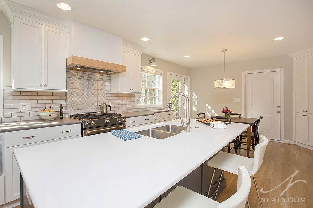 kitchen remodel with large island