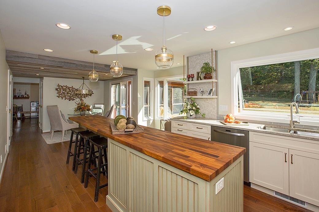 Blue Ash kitchen