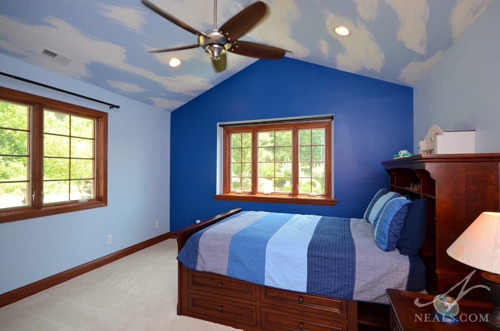 second floor bedroom addition in Anderson Township