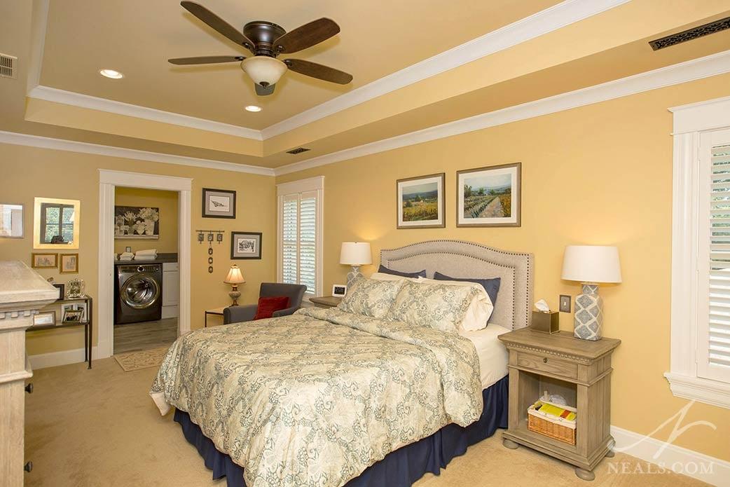 Master bedroom in Hyde Park addition