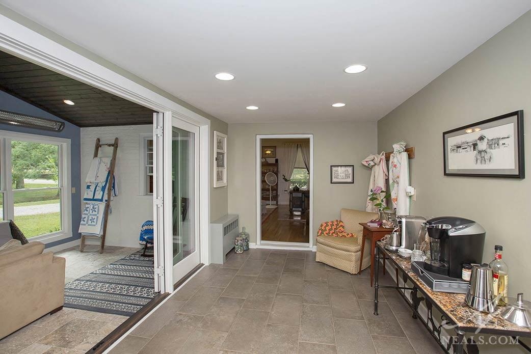hallway in Okeana addition