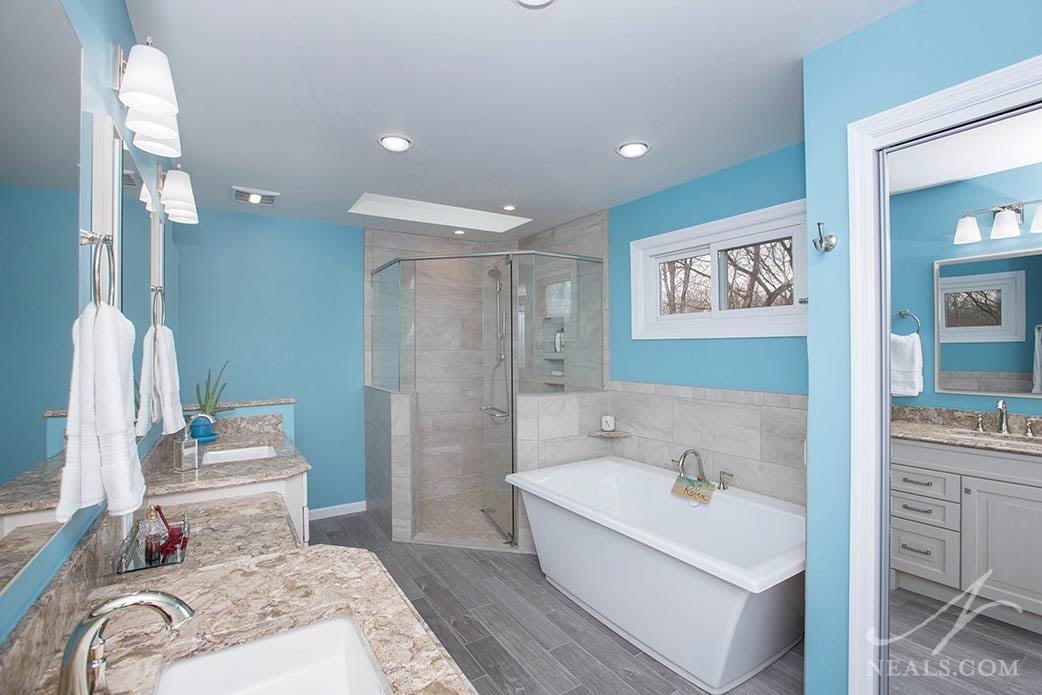 Indian Hill bathroom remodel