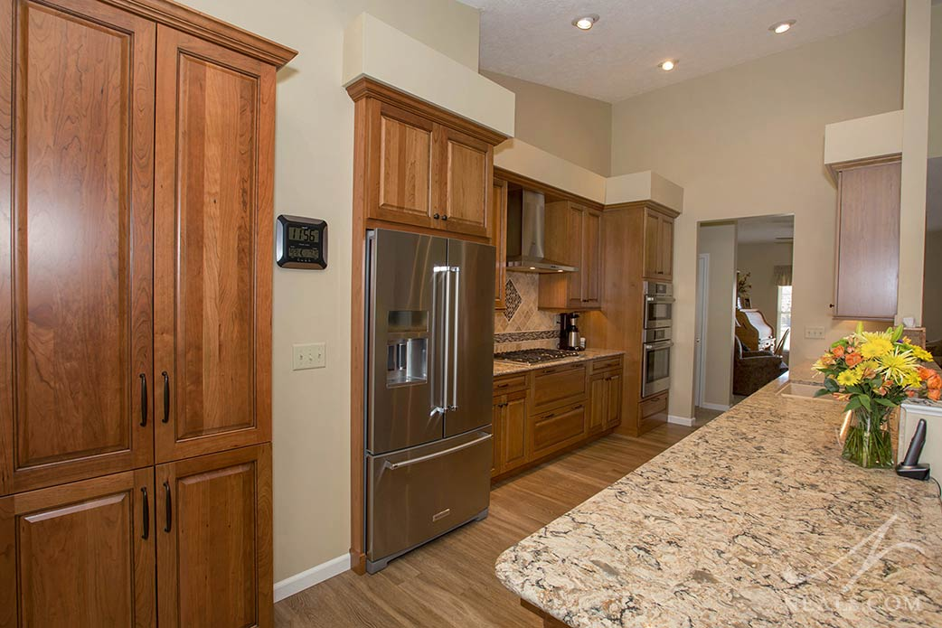 A warranty helps protect the homeowners of this Lebanon kitchen from issues that may show up in their cabinet investment.