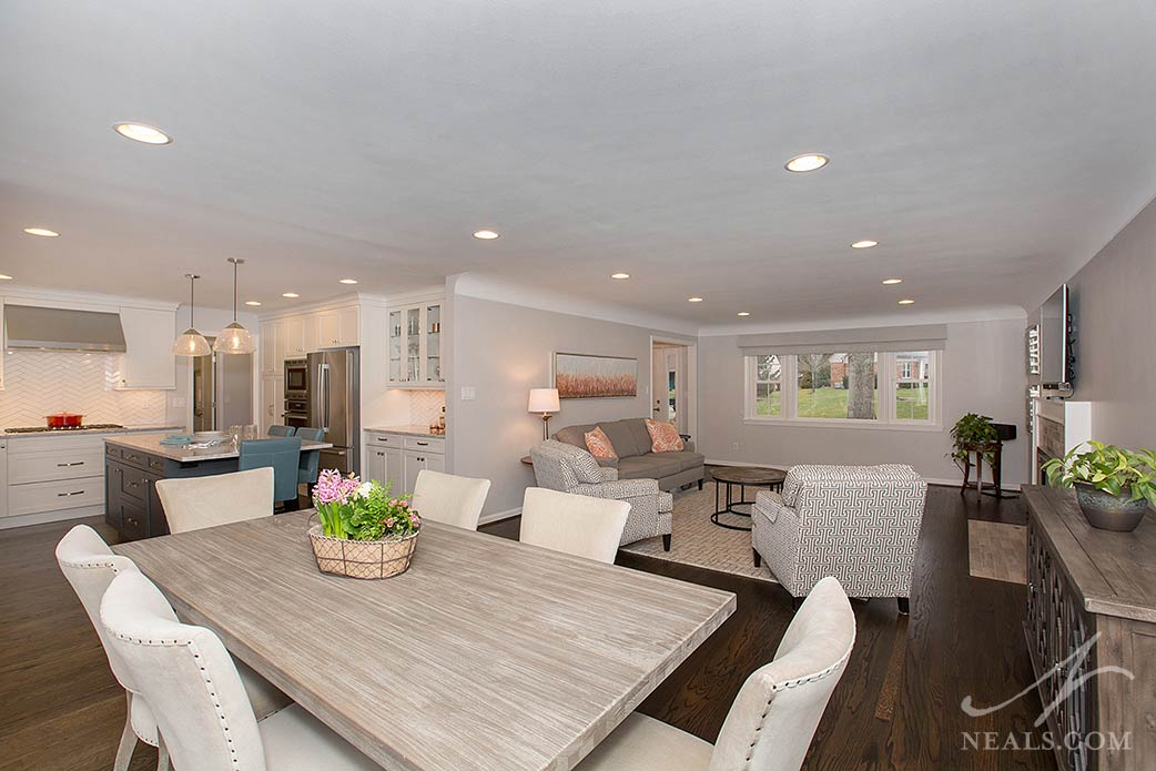 ranch home open concept