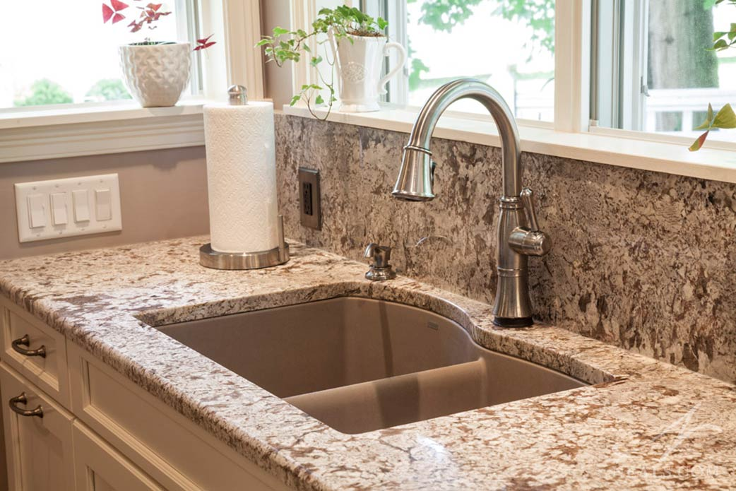 A composite sink in this Sycamore Township remodel.
