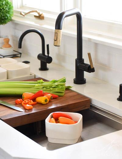 A Kohler Stages sink in this Anderson Township kitchen.