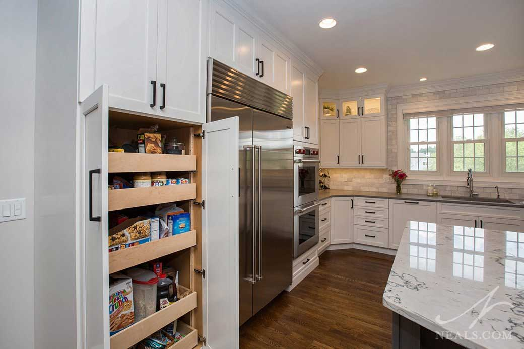 Pull out pantry 1