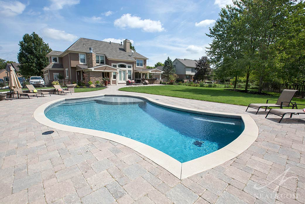 pool in Sycamore Township outdoor living