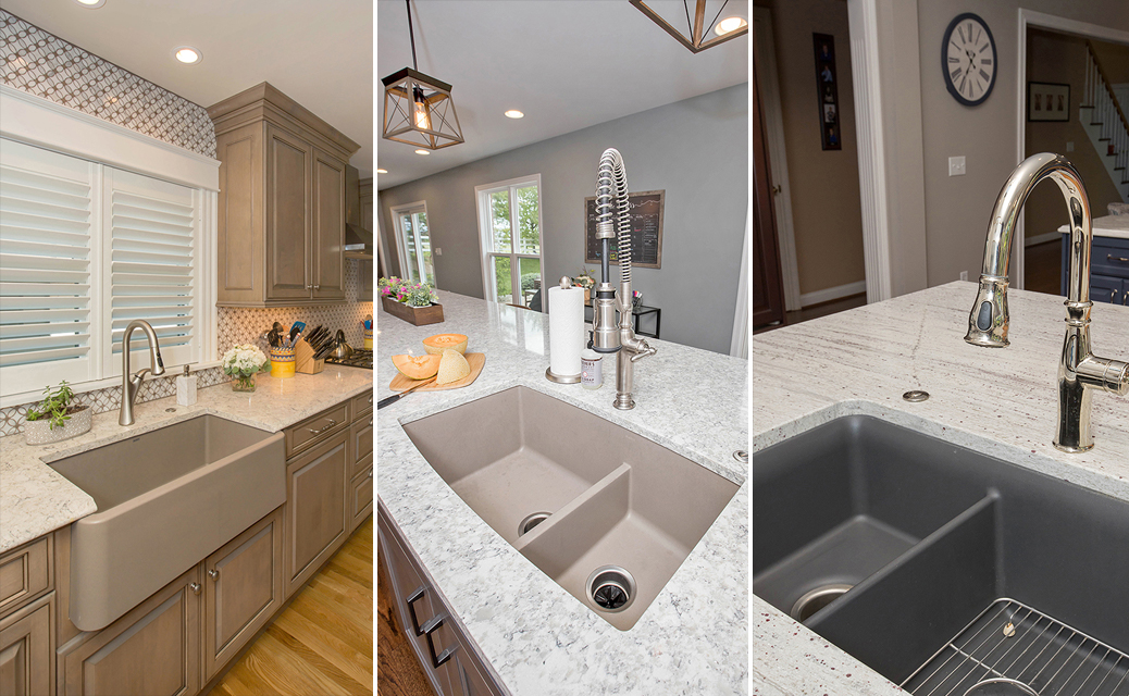 Colored Kitchen Sinks