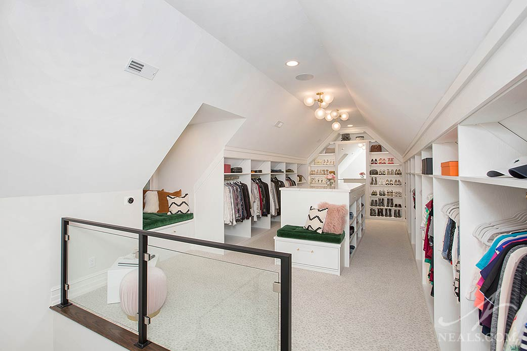 boutique style dressing room design by California Closets