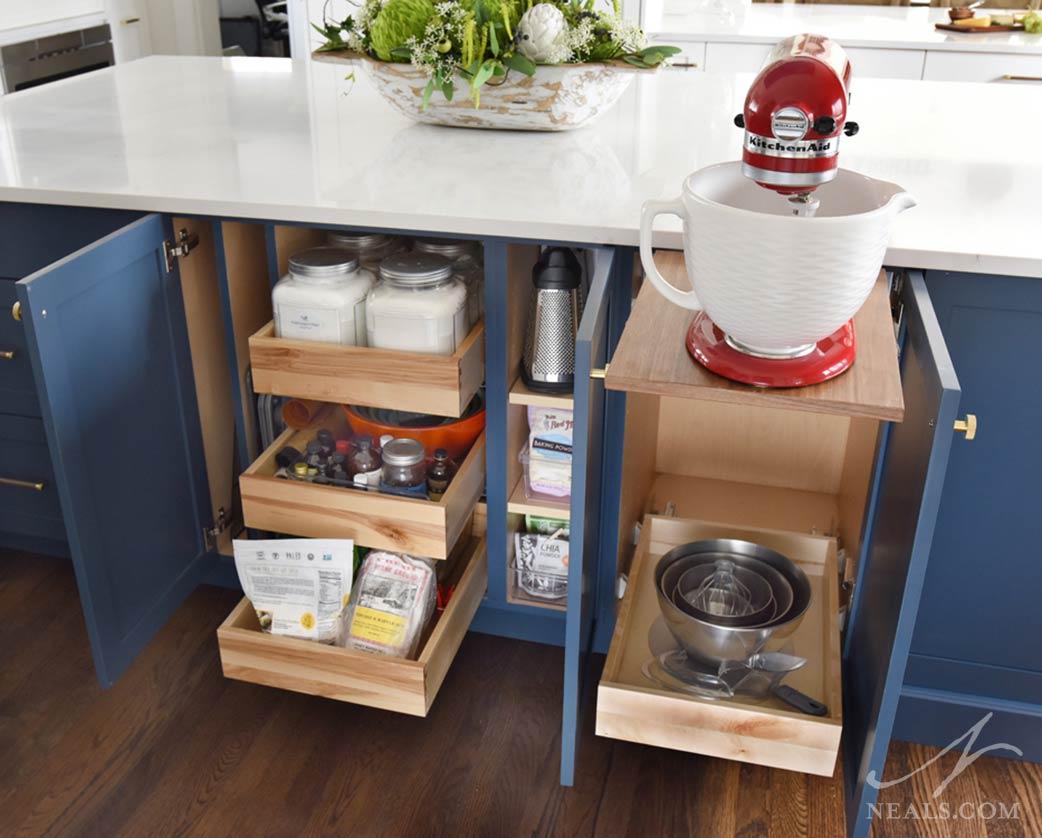 cabinet interior kitchen storage